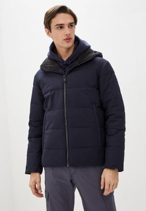 Куртка утепленная Luhta. Цвет: синий