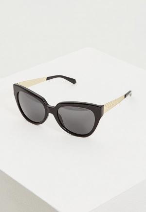 Очки солнцезащитные Michael Kors. Цвет: черный