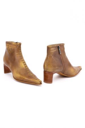 Ботинки MEDEA. Цвет: бежевый
