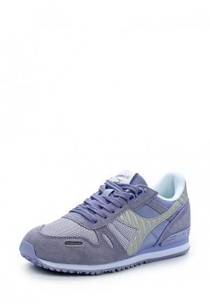 Кроссовки Diadora. Цвет: фиолетовый