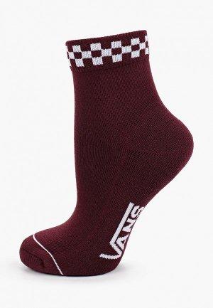 Носки Vans. Цвет: бордовый