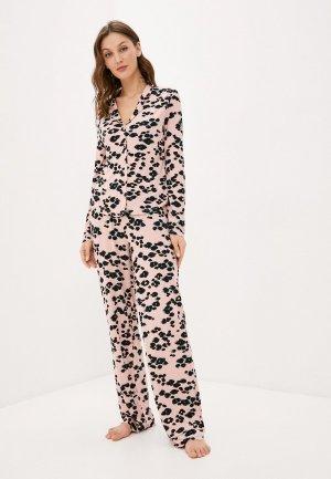 Пижама Missguided. Цвет: розовый