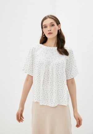 Блуза Gap. Цвет: белый