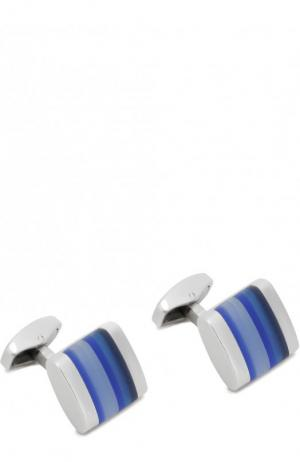 Запонки Tateossian. Цвет: синий