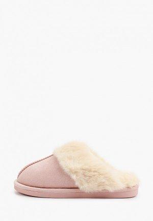 Тапочки Fashion & Bella. Цвет: розовый