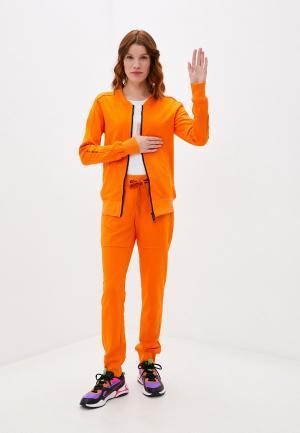 Костюм спортивный Sitlly. Цвет: оранжевый