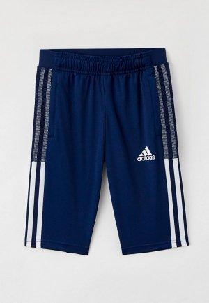 Капри adidas. Цвет: синий