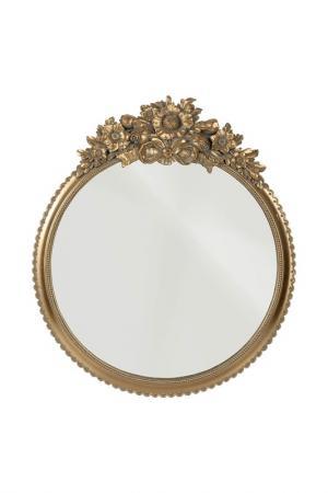 Зеркало 43x5x50 см ГЛАСАР. Цвет: бежевый