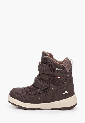 Ботинки Viking. Цвет: коричневый