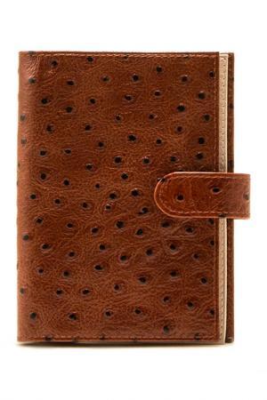 Бумажник FRIJA. Цвет: коньячный