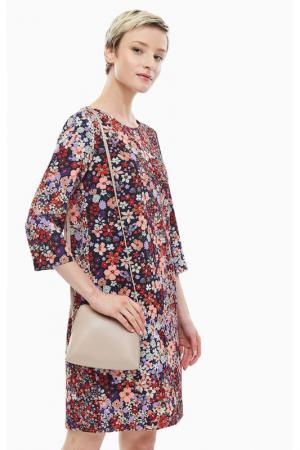 Платье CINQUE. Цвет: мультицвет