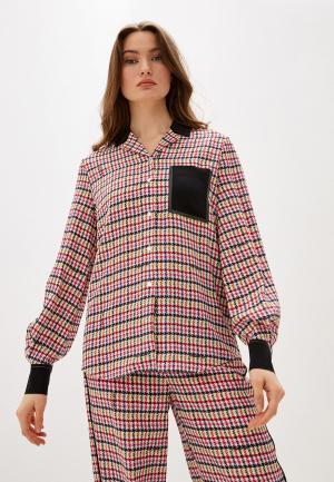 Блуза Karl Lagerfeld. Цвет: разноцветный