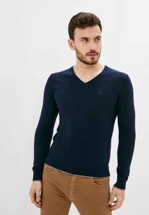 Пуловер Conte Of Florence. Цвет: синий