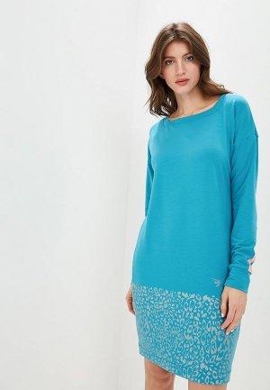 Платье Grishko. Цвет: голубой