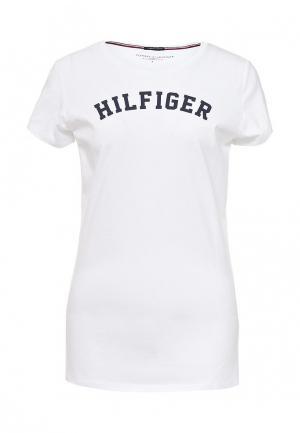 Футболка домашняя Tommy Hilfiger. Цвет: белый