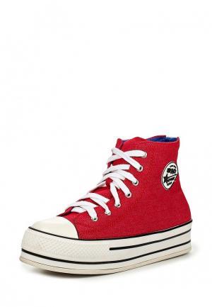 Кеды Dino Ricci Trend. Цвет: красный