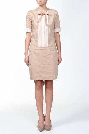 Платье G.SEL. Цвет: кремовый