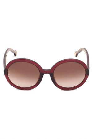 Солнцезащитные очки CAROLINA HERRERA. Цвет: фиолетовый