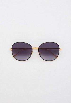 Очки солнцезащитные Isabel Marant. Цвет: золотой