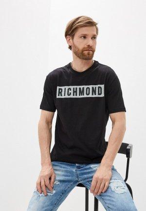 Футболка John Richmond. Цвет: черный