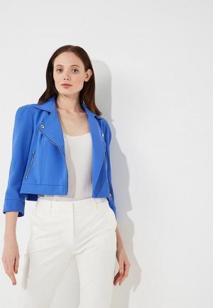 Куртка Patrizia Pepe. Цвет: синий