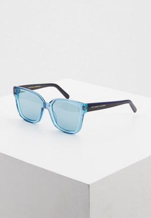Очки солнцезащитные Marc Jacobs. Цвет: синий