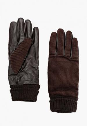 Перчатки Koton. Цвет: коричневый