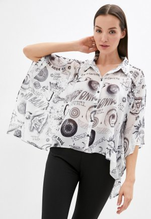 Блуза Desigual. Цвет: белый