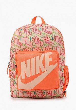 Рюкзак Nike. Цвет: коралловый