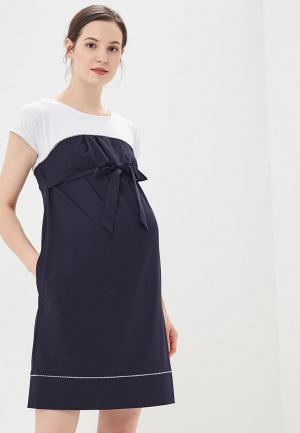 Платье BuduMamoy. Цвет: синий