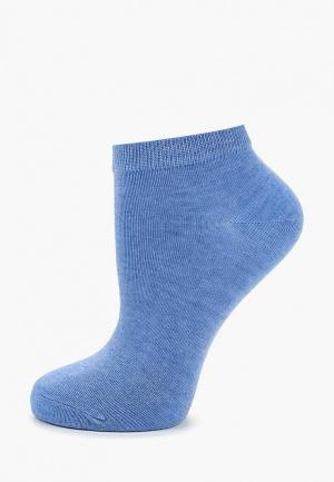 Носки Befree. Цвет: голубой