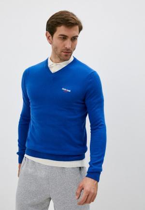 Пуловер Roberto Cavalli Sport. Цвет: синий