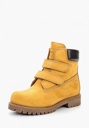 Ботинки Excavator. Цвет: коричневый