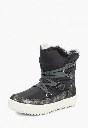 Луноходы King Boots. Цвет: серый