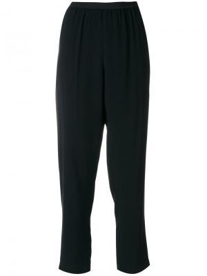 Строгие укороченные брюки  IM Isola Marras I'M. Цвет: чёрный