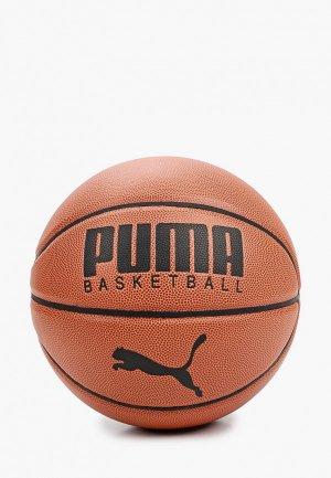 Мяч баскетбольный PUMA. Цвет: коричневый