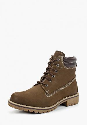 Ботинки Marco Tozzi. Цвет: хаки