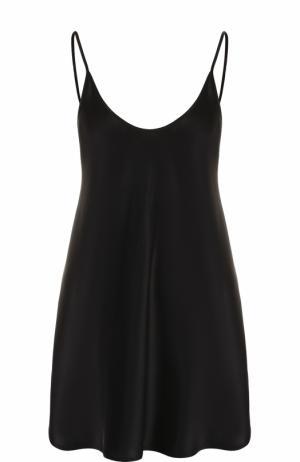 Ночная сорочка La Perla. Цвет: черный