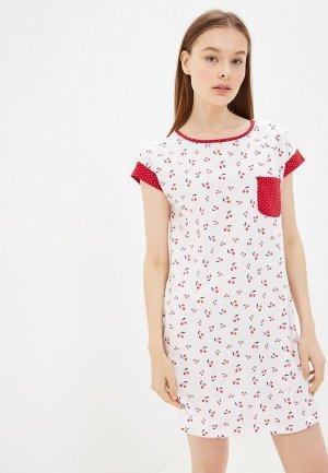 Сорочка ночная OVS. Цвет: белый