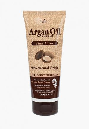 Маска для волос Argan Oil. Цвет: прозрачный