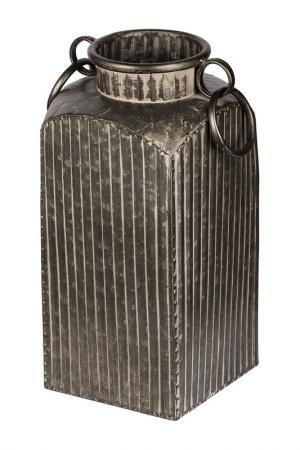 Бидон декоративный 17x17x38 см ГЛАСАР. Цвет: бежевый