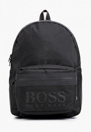 Рюкзак Boss. Цвет: черный