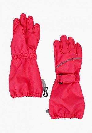 Перчатки Lassie. Цвет: розовый