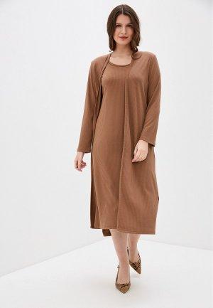 Комплект TrendyAngel. Цвет: коричневый
