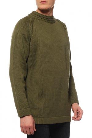 Джемпер GRAN SASSO. Цвет: зеленый