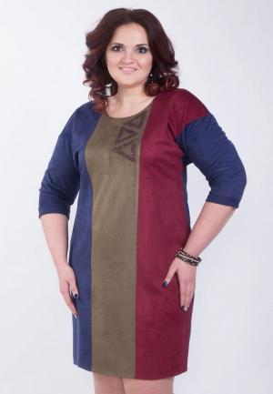 Платье Wisell. Цвет: разноцветный