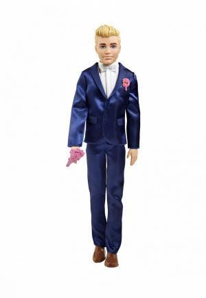 Кукла Barbie. Цвет: синий
