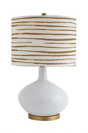 Настольная лампа CREATIVE. Цвет: бежевый