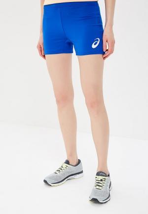 Шорты спортивные ASICS. Цвет: синий