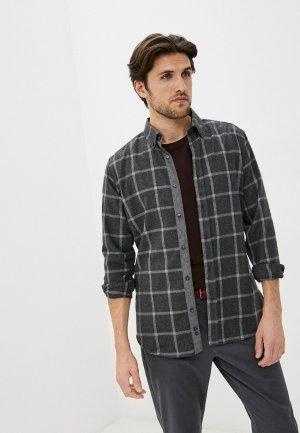 Рубашка Jimmy Sanders. Цвет: серый